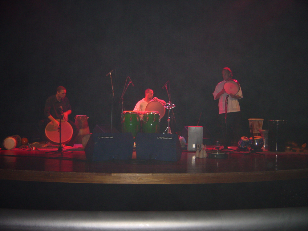 Hands On'Semble in Concert at SESC Santo Andre, Sao Paulo August 13th, 2003.