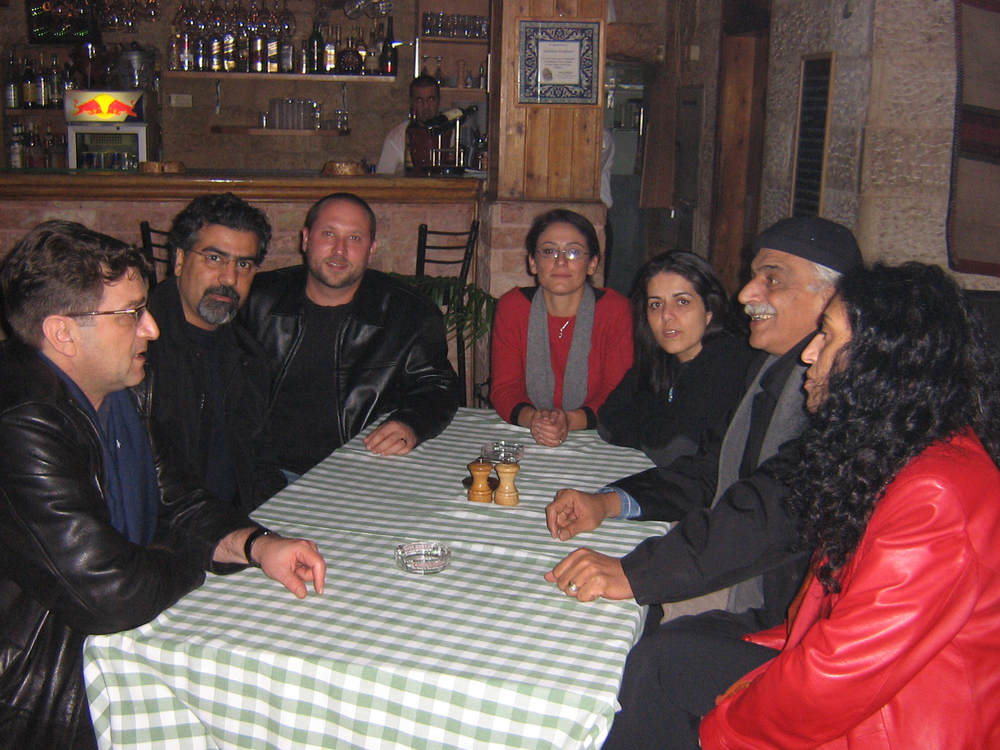 Lian Ensemble spent a few memorable nights hanging out in Jerusalem with oudist Khaled Jubran. November 15th, 2006.