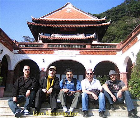 ands On'Semble in Taiwan 12/06.  L-R:Austin, Adam, Houman, Randy, Andrew.