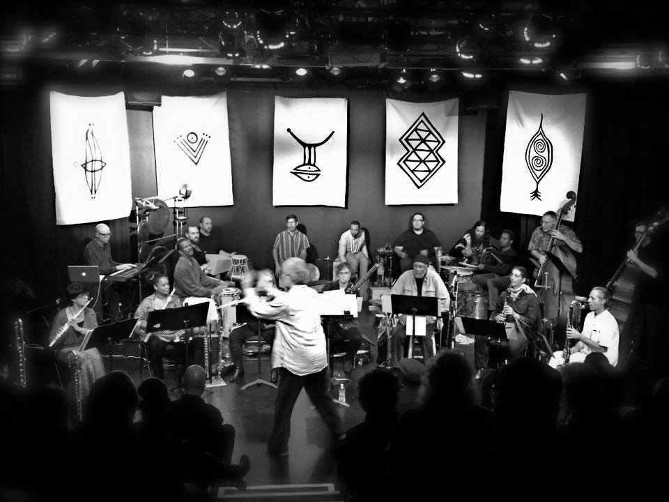 Adam Rudolph's Go: Organic Orchestra  at the Electric Lodge, Venice CA