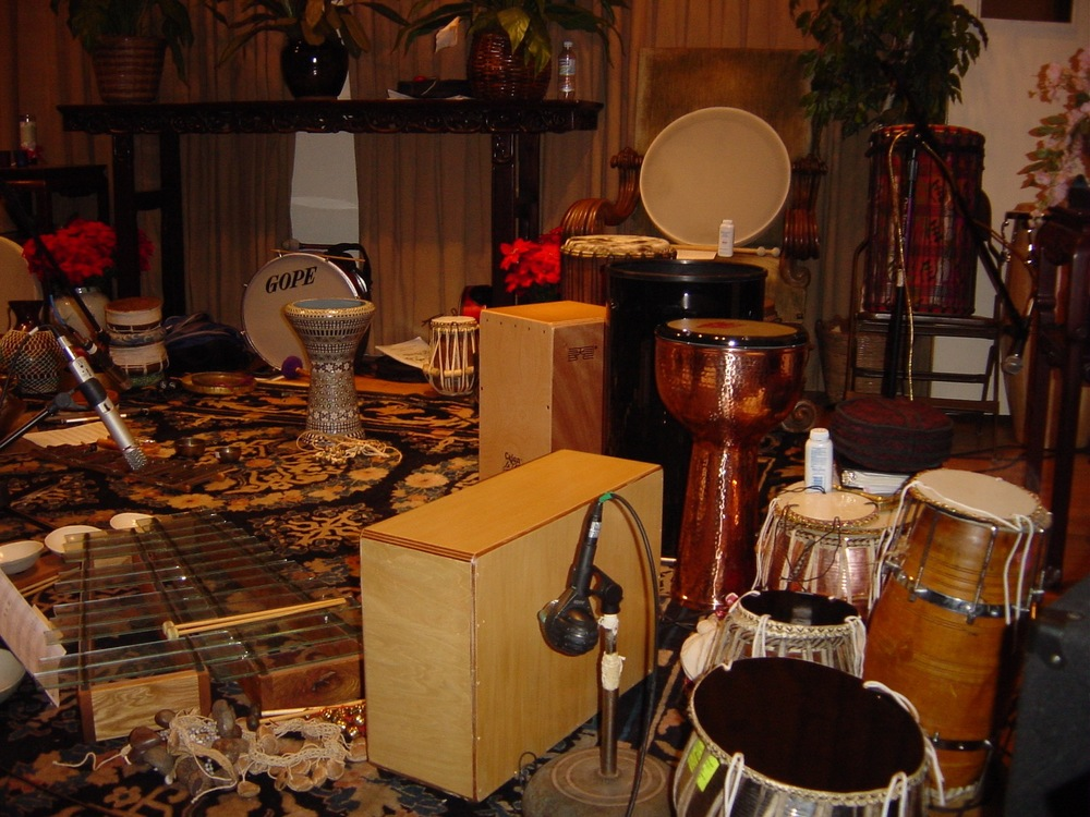 Hands On'Semble and Tabla Rasa.  Philosophical Research Society, Los Angeles CA. 2004.