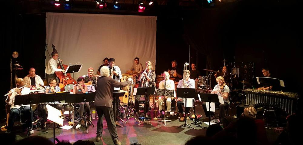 Adam Rudolph's Go: Organic Orchestra at the Electric Lodge, Venice CA.  April 3rd 2016.