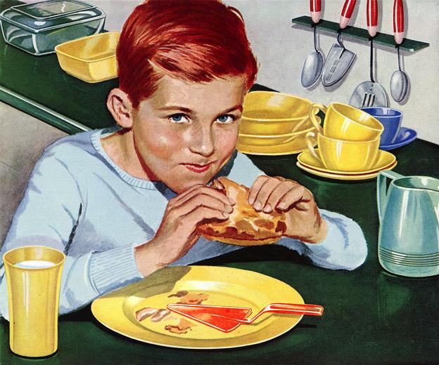 Propaganda da Dow Química, anos 50. O plástico era vendido como tudo de bom!