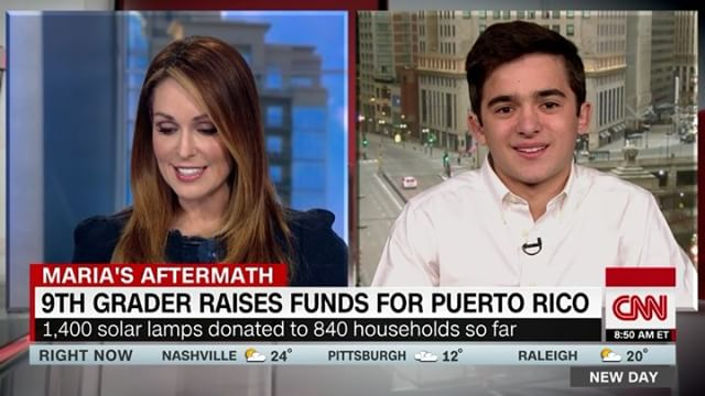 So inspired by the incredible work and impact of this young activist @salvadorgomezofficial who started a campaign with the goal to raise $100K to deliver solar lamps for the survivors of Maria in #PuertoRico and not only surpassed his goal but has made a difference in the lives of hundreds of Puertorican families. Help support his efforts by donating in the #linkinbio 🙌🏼✨ Mission driven entrepreneurship is at our core in #theinsidecrowd and we are super excited to see our youth taking action. Any #littleactofkindness matters 🙏🏼💫 . #missiondriven #entrepreneurship #socialentrepreneur #socialentrepreneurship #kindness #sebuenagente #makeadifference #mariahurricane #puertorico #puertoricoselevanta