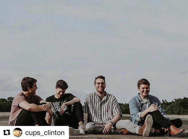 #Repost @cups_clinton ・・・ We're only 2 days away from our Fall kickoff show with @john.h.a.r.t and @brookandbluff !! Free pizza for everyone, and free upsized drinks for students with a student ID. Drop a comment if you'll be there!