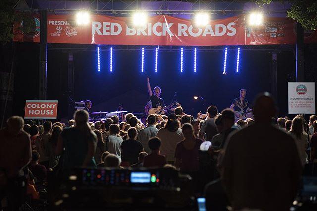 Has it been a year already? Red Brick Roads Festival starts tonight in downtown Clinton.  @redbrickroadsclinton @jxnmusic @clintonms_39056 @johnboymusic @bonniebishopforrockstar @travis_meadows