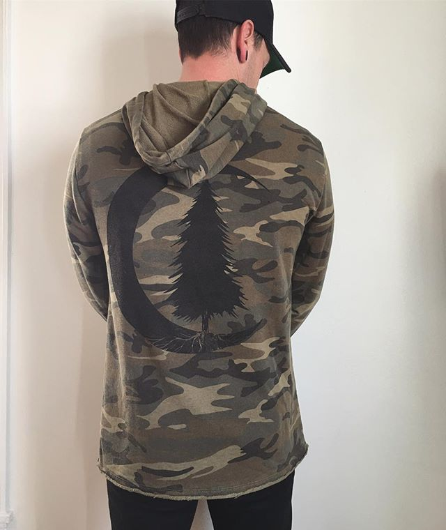 UPDATE: Only one large left! I have three ready to ship unisex pullover camo woodland hoodies!! One medium and two large! Follow the link in profile to get one. . . . #acanthusapparel #woodland #camo #moon #tree #familybusiness #screenprinting #printlife #printalternative #desmoinesiowa #desmoinesartist #maker