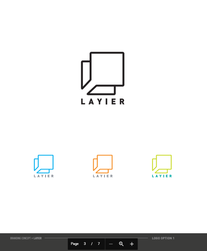 Layier - Corporate Identity