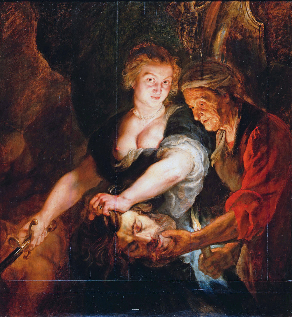 Peter Paul Rubens - Judith with the Head of Holofernes , 1616