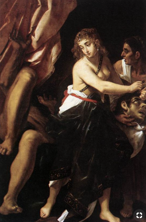 Judith and the Head of Holofernes - Giovanni Baglione