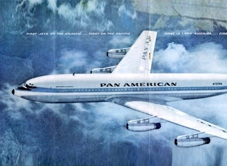 From a fifties-era Pan Am ad.