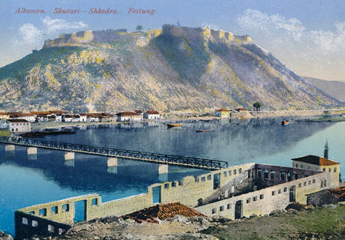 A postcard of Albania, ca. 1910.