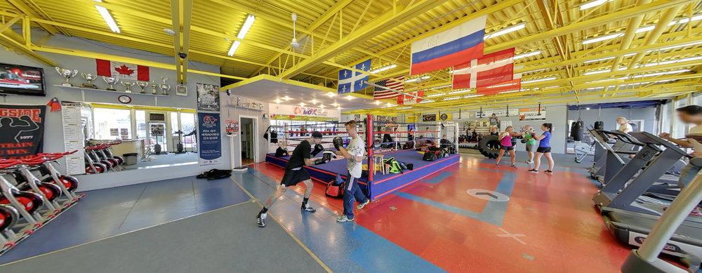 Énergie Gym Energy Box, Lévis.