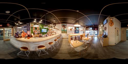Café Bar Plywood
