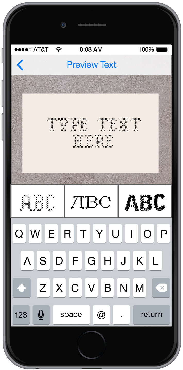 Text Customization