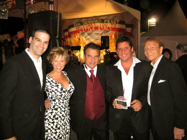 ...the Shades of Sinatra and Tony Sacca, at the San Gennaro Feast, 9/09.