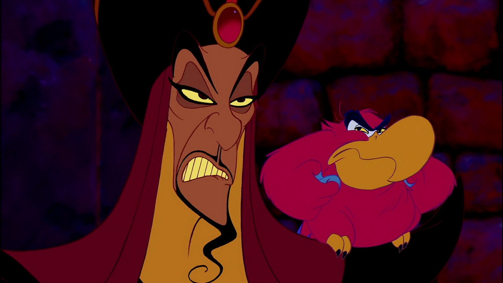Soon, I will be sultan, not that addlepated twit. - Jafar