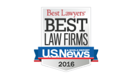 Best Law Firms U.S. News & World Report 2013-2016