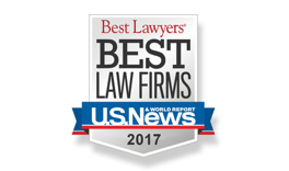 Best Law Firms U.S. News & World Report 2013-2017
