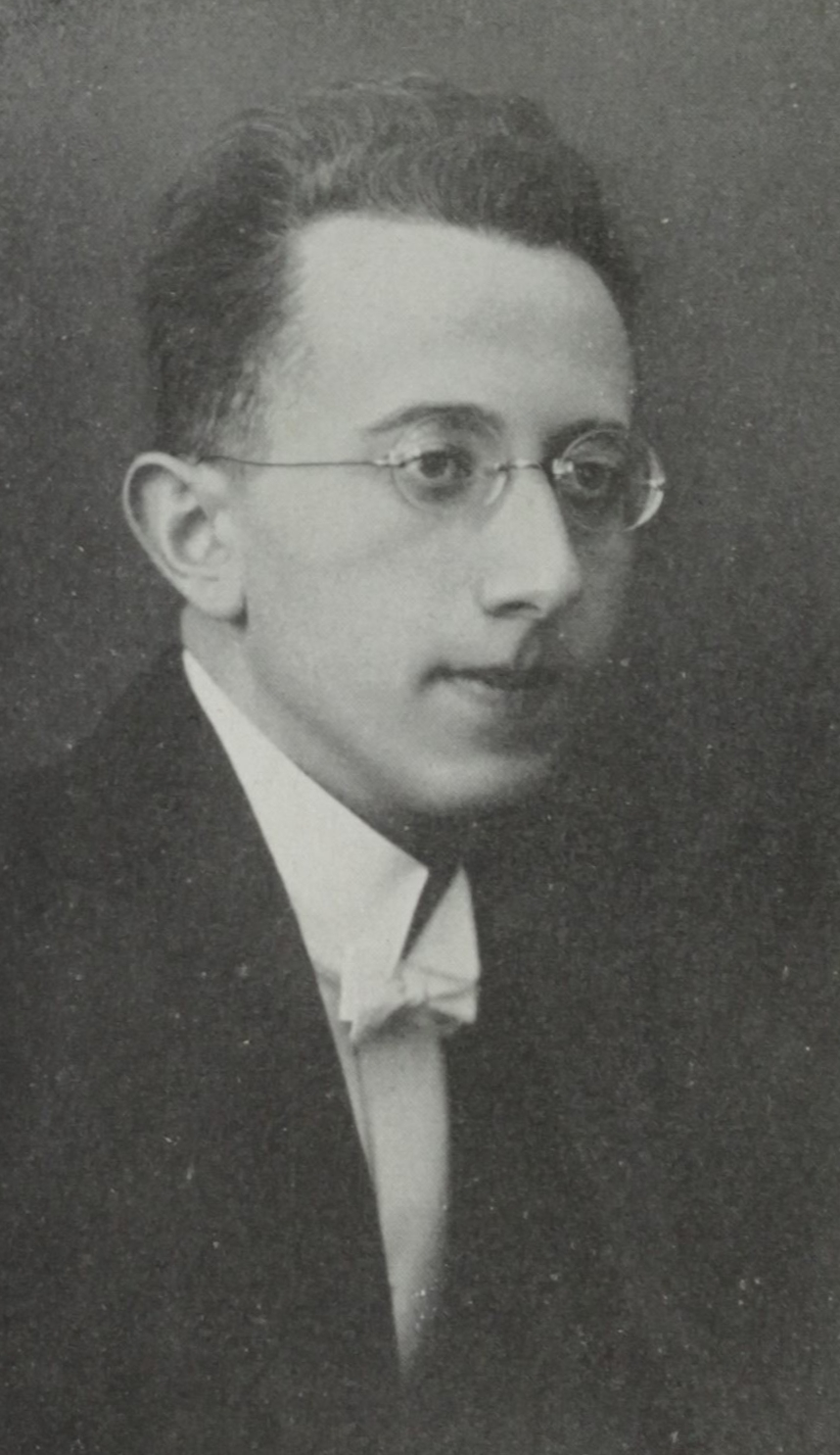 Music Director Fritz Mahler (first cousin once removed to Gustav Mahler)