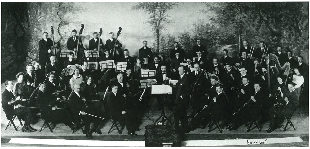 The Erie Philharmonic in 1913