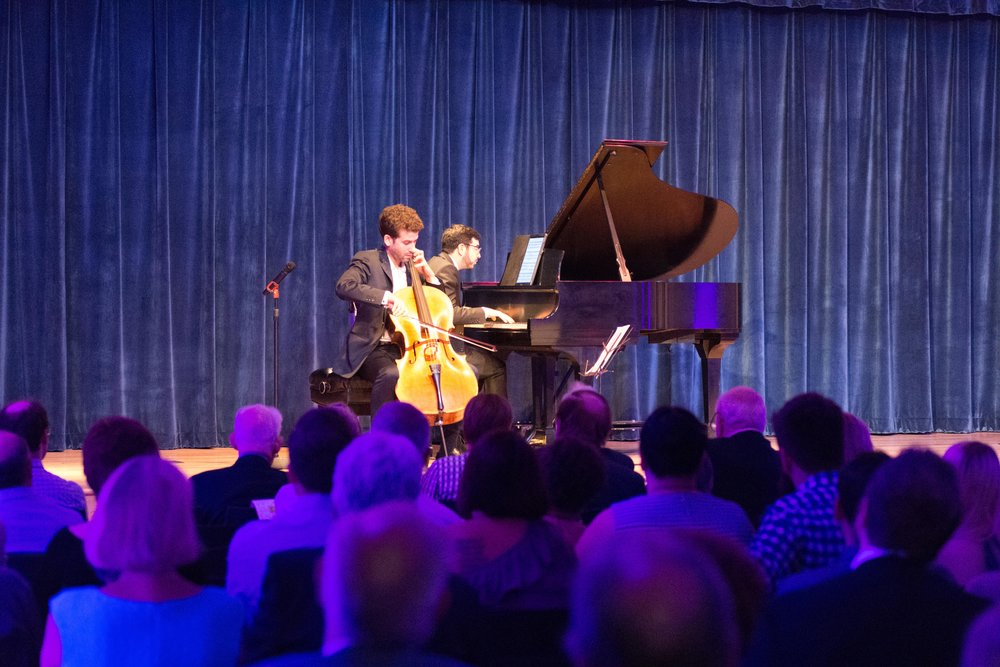 Amazing live performance - Featuring pianist Michael Brown and cellist Nicholas Canellakis - see them back in Erie on October 7