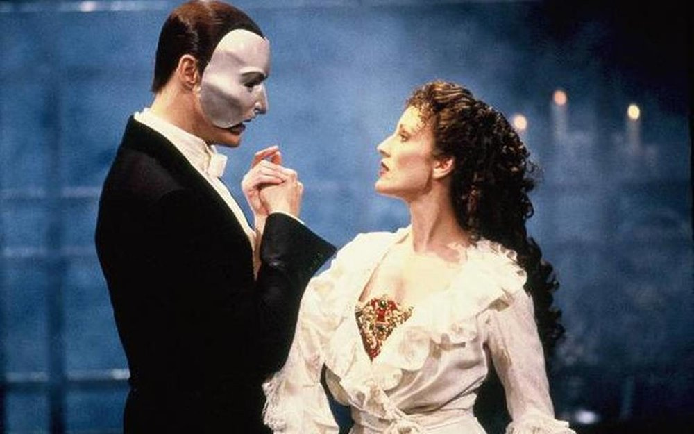 Lisa Vroman in her iconic role from the Phantom of the Opera on Broadway