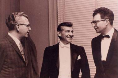Howard Brubeck, Bernstein, Dave Brubeck