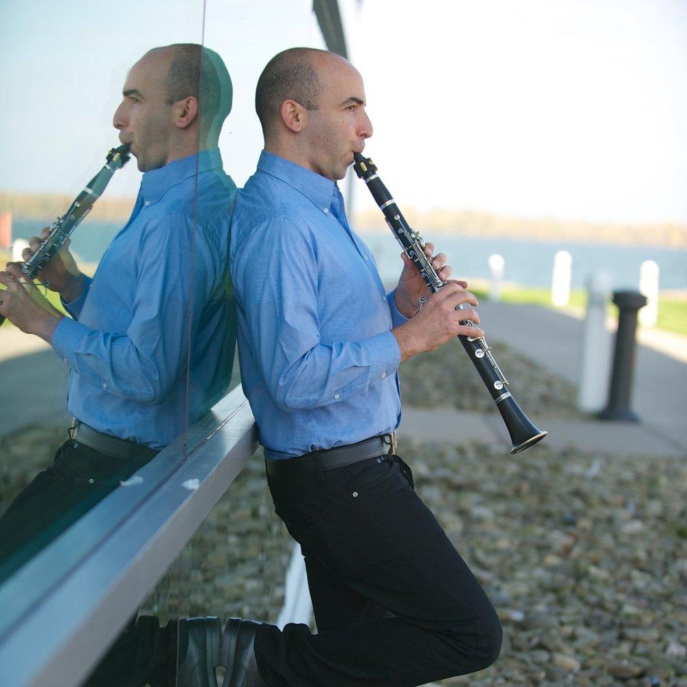 Amitai Vardi,  Erie Philharmonic Principal Clarinet