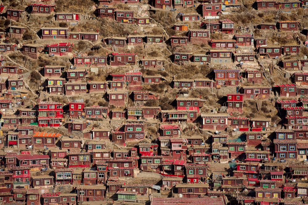 Serthar Tibetan Buddhist Institute, Western Sìchuān, China