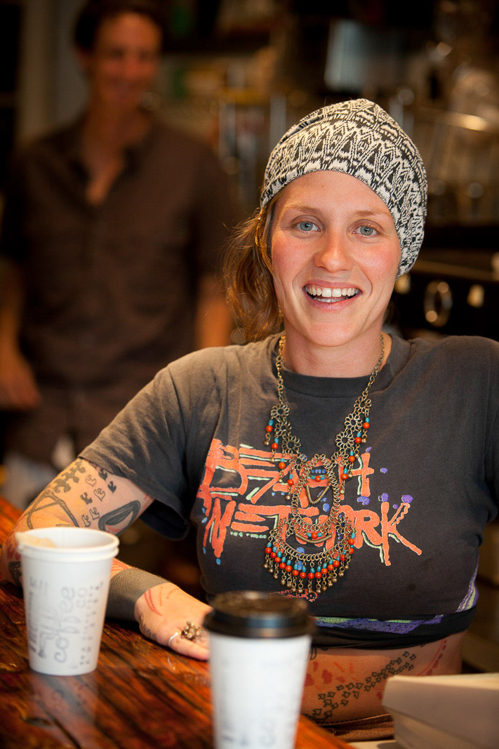 Giulietta Carrelli, Trouble Coffee, San Francisco, California