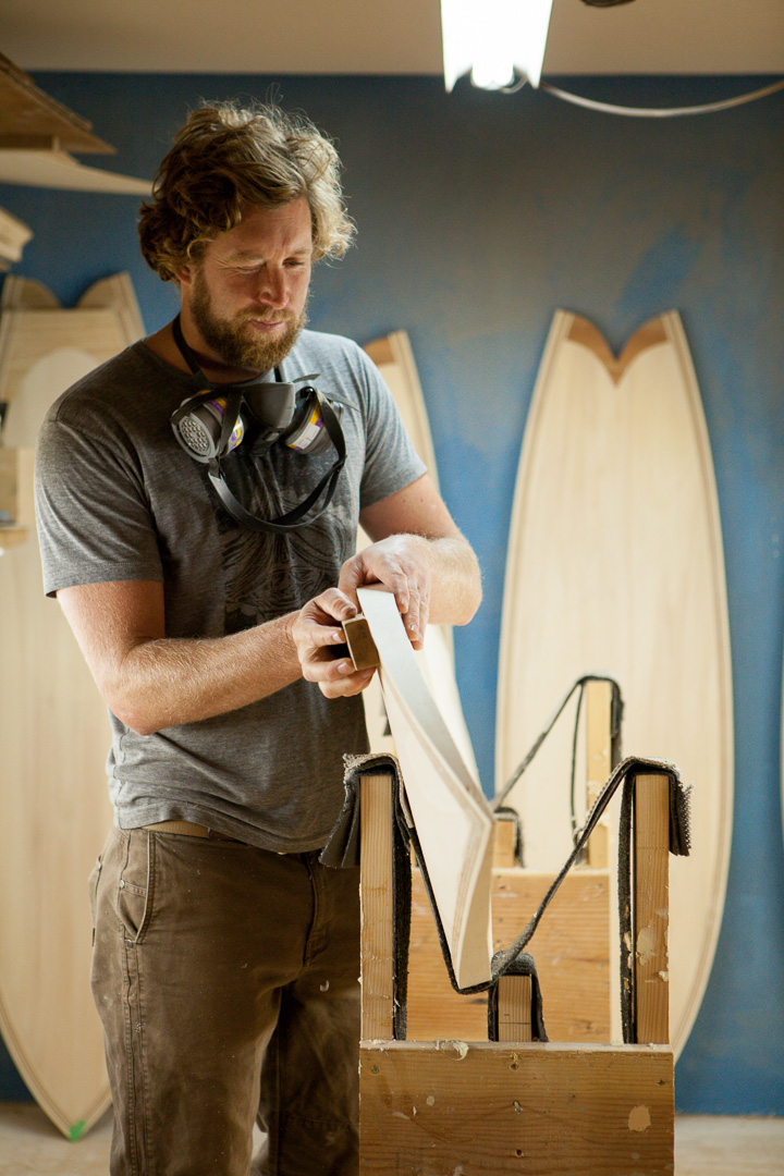 Danny Hess, Woodshop, SF, California