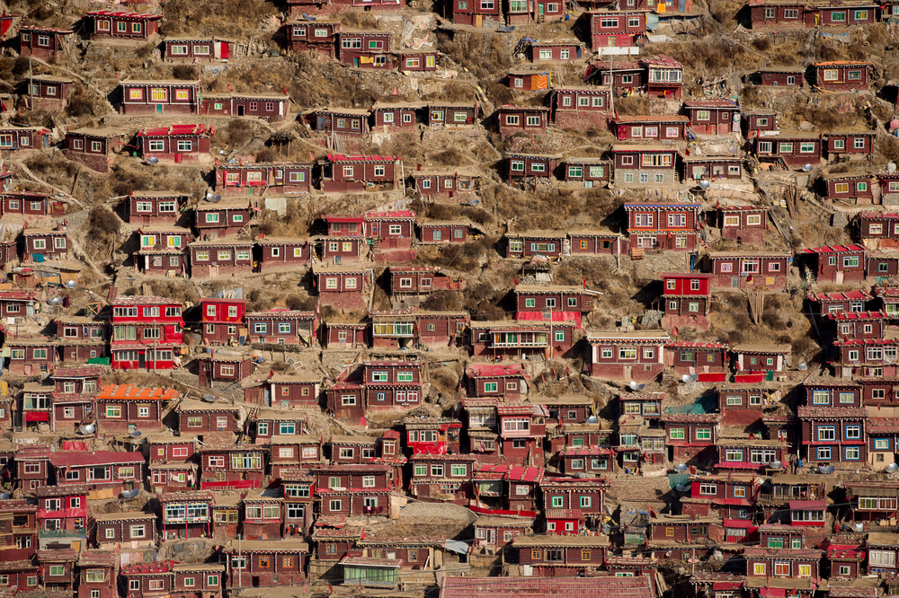 Serthar Tibetan Buddhist Institute,  Tibetan Autonomous Region, China