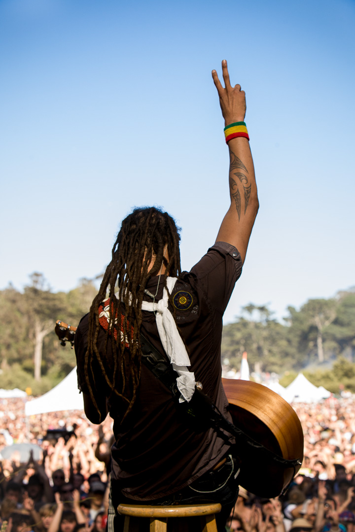 Michael Franti, Power to the Peaceful, San Francisco, California