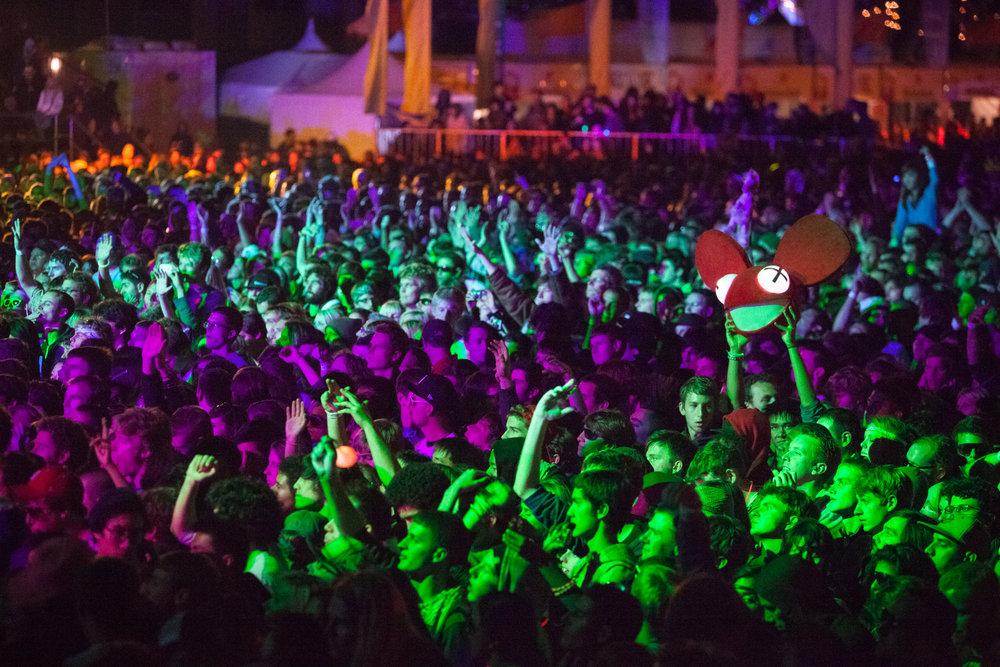 Deadmau5, Treasure Island Music Festival, Oakland, CA