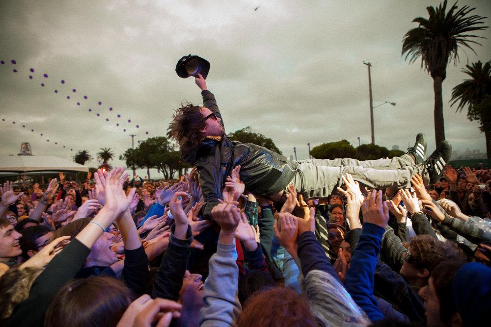 Broken Social Scene, Treasure Island Music Festival, Oakland, CA