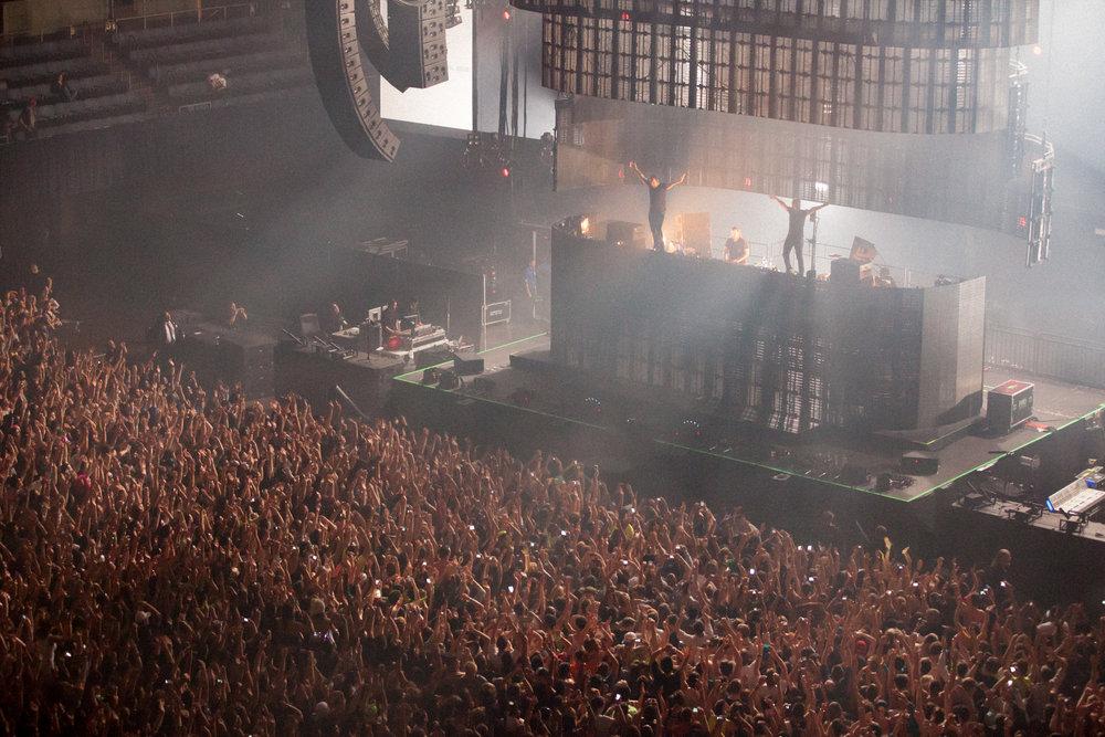 Swedish House Mafia, Bill Graham Civic Auditorium, SF, CA