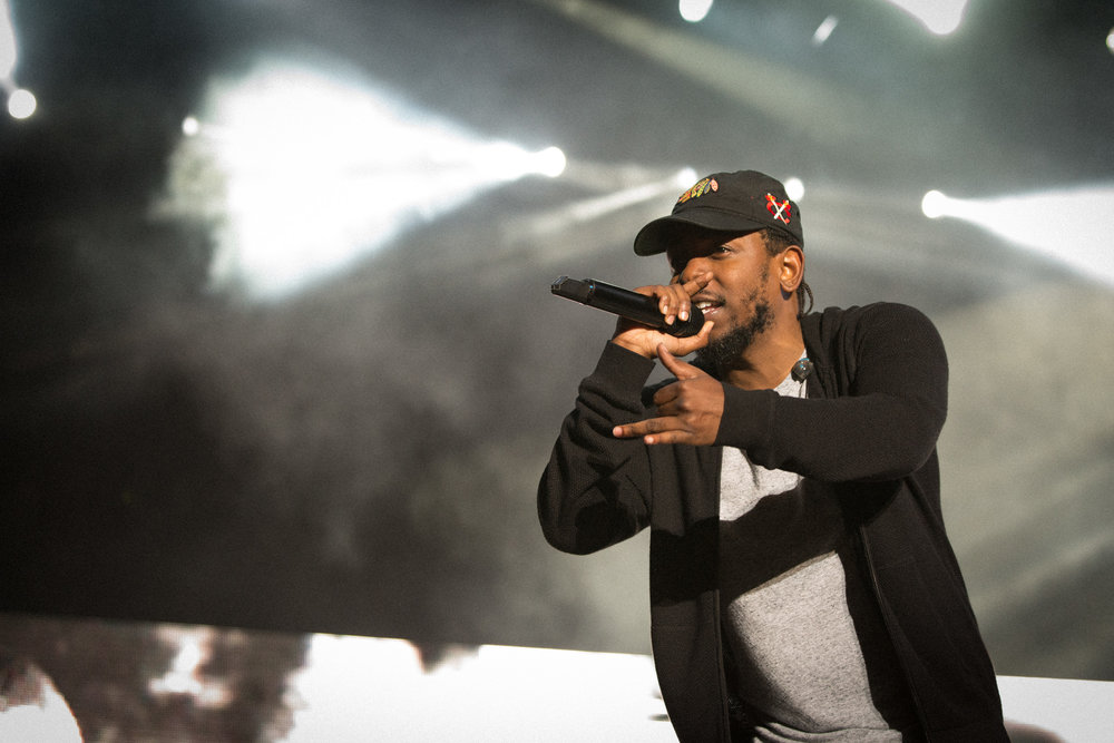 Kendrick Lamar, Outside Lands, SF, CA