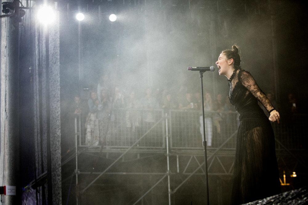 Lorde, Outside Lands, San Francisco, CA