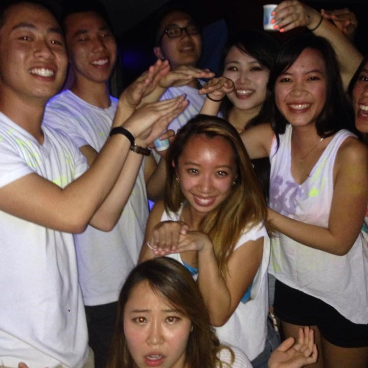 4.2.2015 UCLA ΛΦΕ Rush Highlighter Party