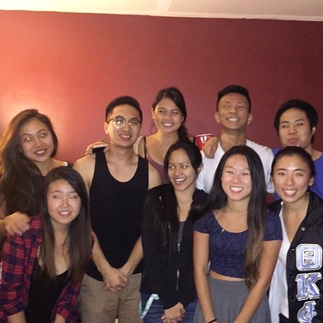 11.29.2015 UCLA ΛΦΕ Thanksgiving Dinner
