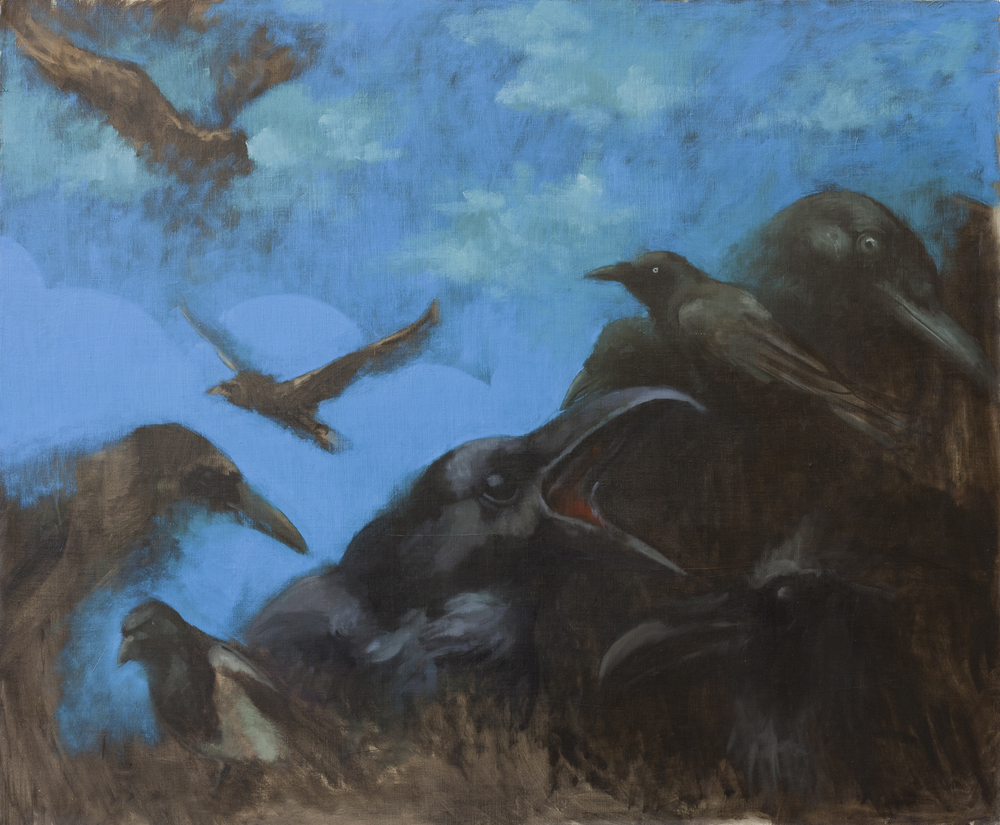 Birds III, Oil on canvas, 100x120cm, 2012