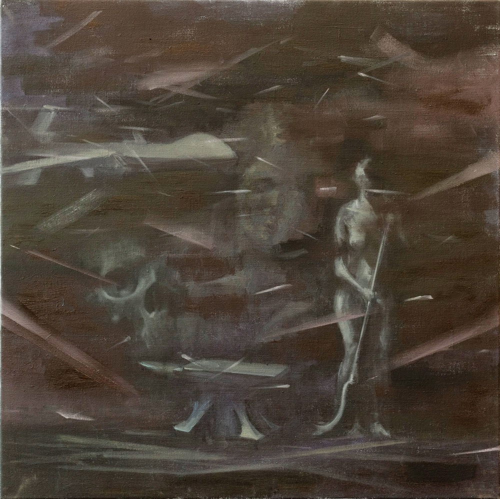 The Witches' Sabbath, Oil on Linen, 60x60cm, 2013