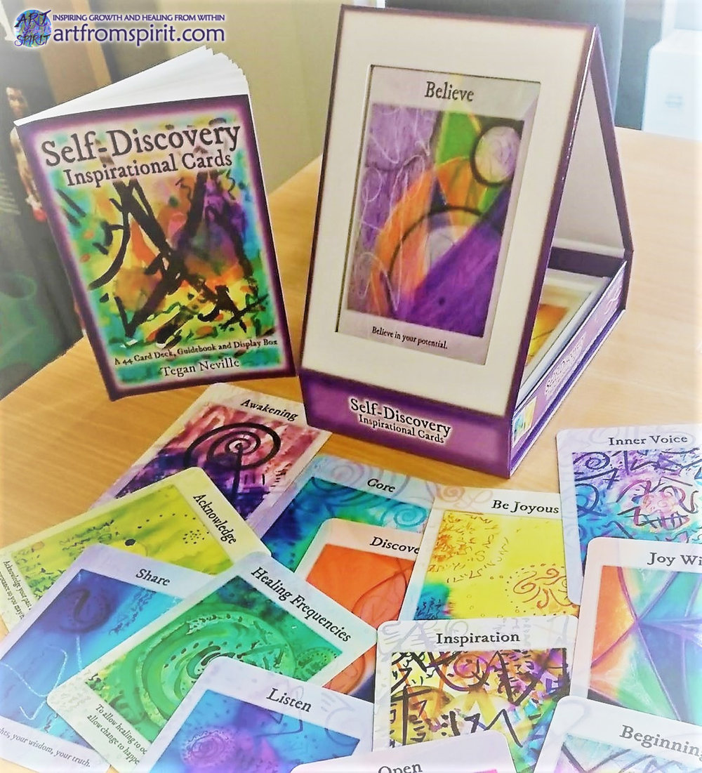 Self-Discovery-Inspirational-Cards-with-unique-stand-by Tegan-Neville-ART-from-SPIRIT.jpg
