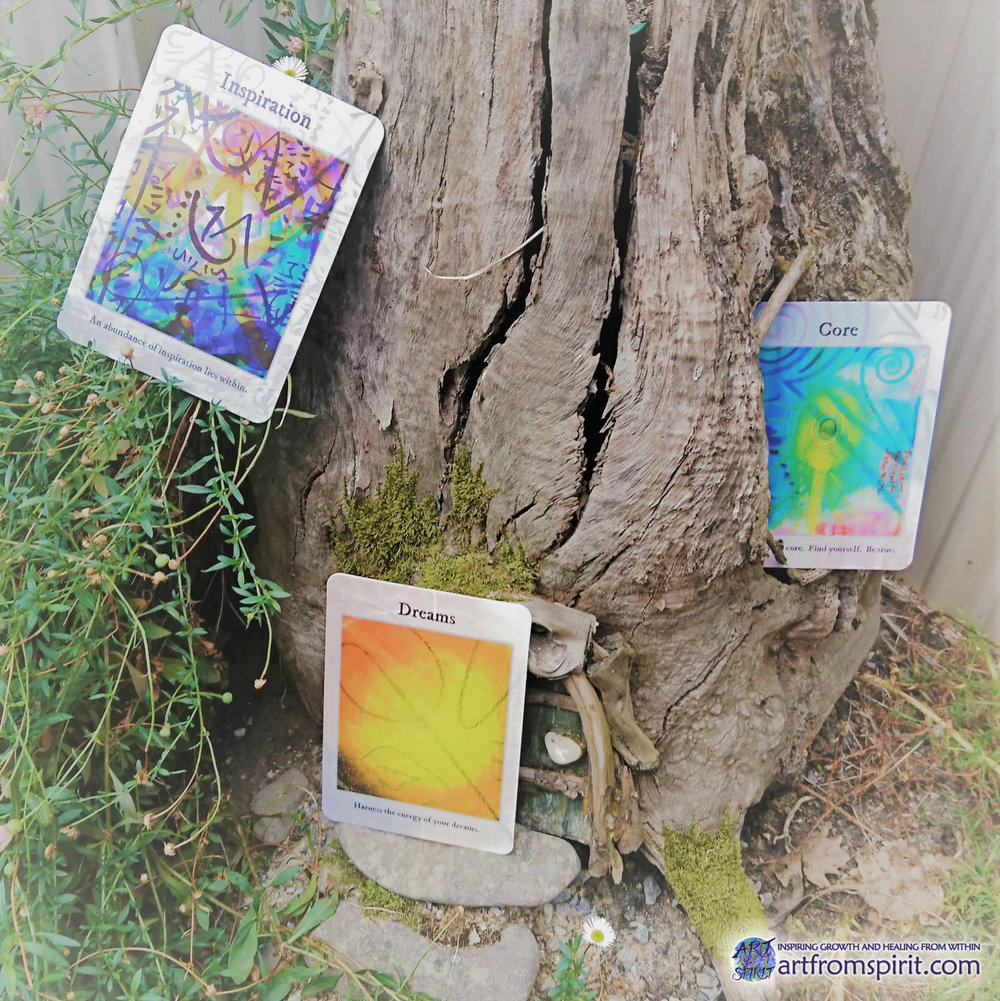 Weekly Guidance from the Fairy Garden - Which card did you choose?