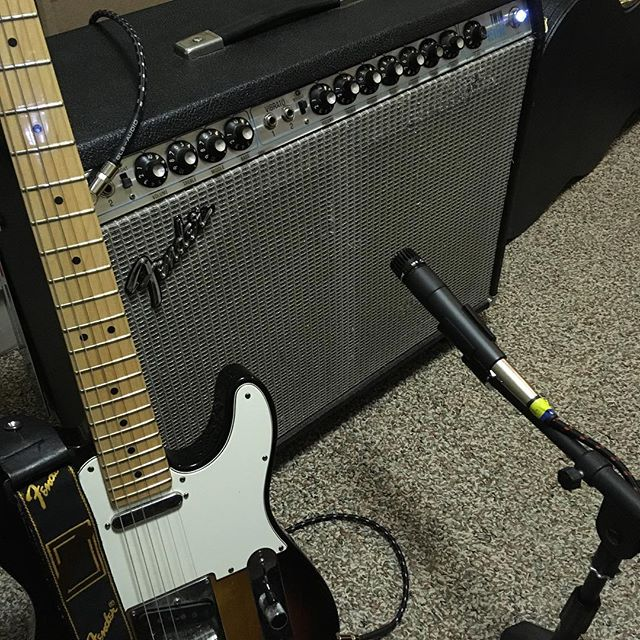 On - - - #fender #twinreverb #telecaster #cleantone