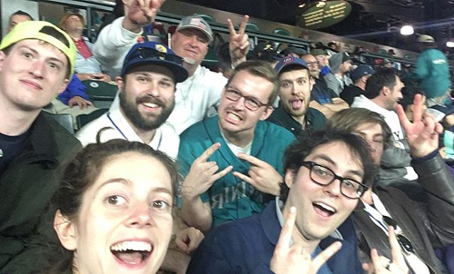 Great time with the fantasy baseball league, witnessing an Insane 11 inning win - - - #angelssuck #angelsaredevils #goms