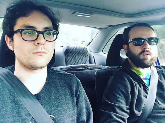 Drivin to band practice - - - #bandpractice #shred #nohitter