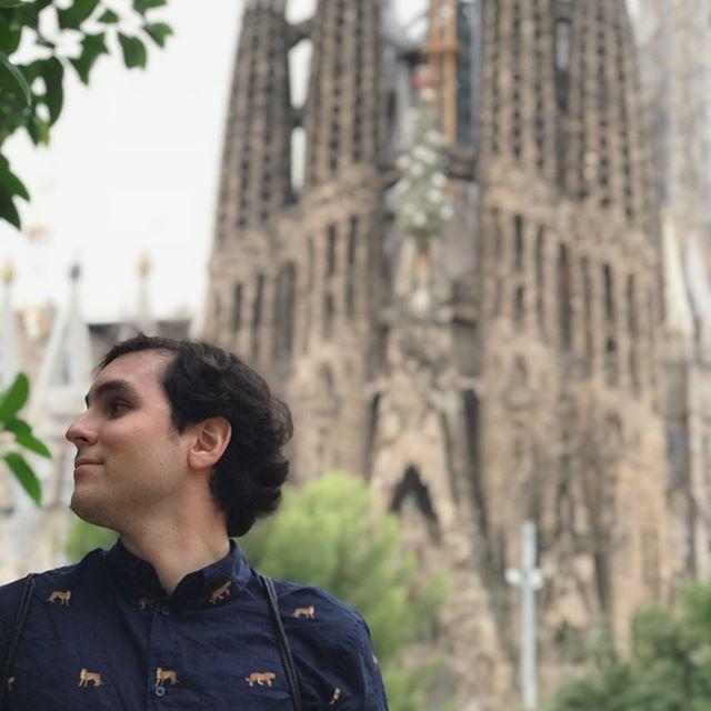 La Sagrada Família - Barcelona, Spain - - - #spain #summervacation #sagradafamilia #barcelona