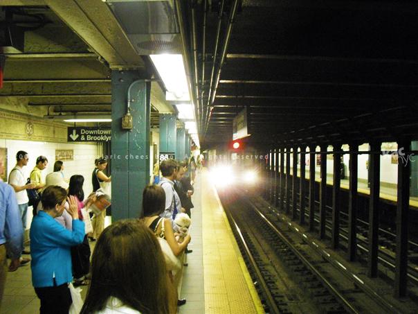 86th & Lexington Ave. Subway Stop